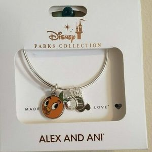 Disney Alex and Ani Orange Bird Bangle
